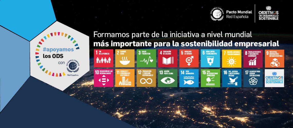 Apoyamos los ODS con Pacto Mundial